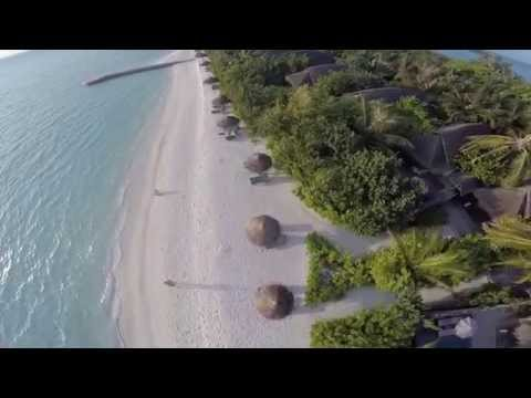 Maldives Anantara Dhigu with phantom2 go pro