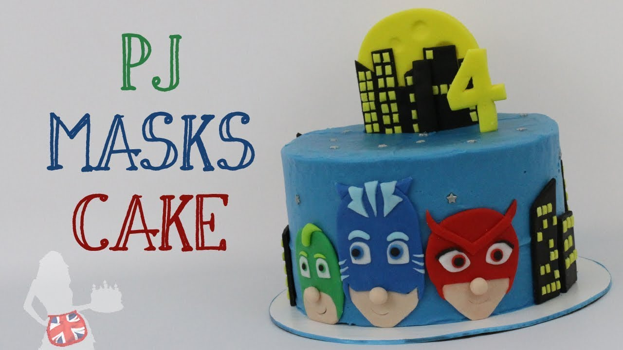 How To Make A PJ Masks Cake
