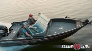 Ranger Aluminum VS1670WT On Water Footage