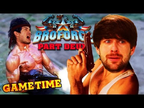 BROFORCE PART DEUX: SMOSH STRIKES BACK (Gametime w/ Smosh Games) |
