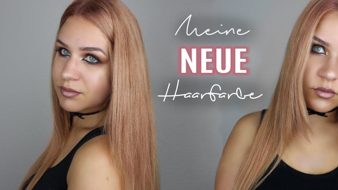 Ich Färbe Meine Haare Rose Blond Lilixymee