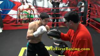 Danny Garcia Workout Highlights For Peterson Fight