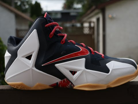 0291c05e5d95 Nike LeBron 11 USA Independence Day - Detailed Review