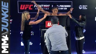 Cynthia Calvillo misses weight ahead of UFC Fight Night 140