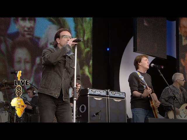 Paul McCartney / U2 - Sgt. Pepper's Lonely Hearts Club Band (Live 8 2005)