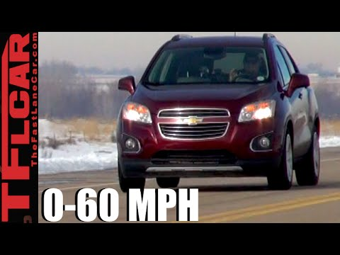 2016 Chevy Trax 0-60 MPH Test and Review
