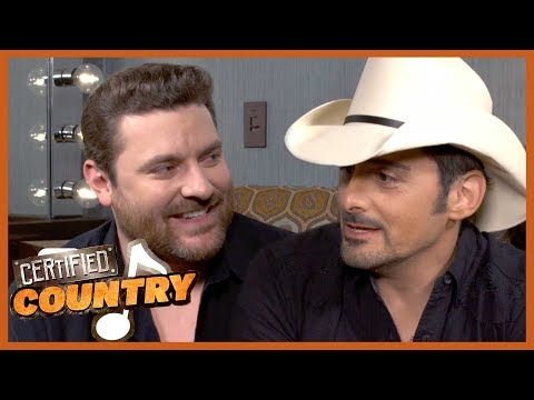 Backstage at Chris Young's Opry Induction With Brad Paisley   Certified Country