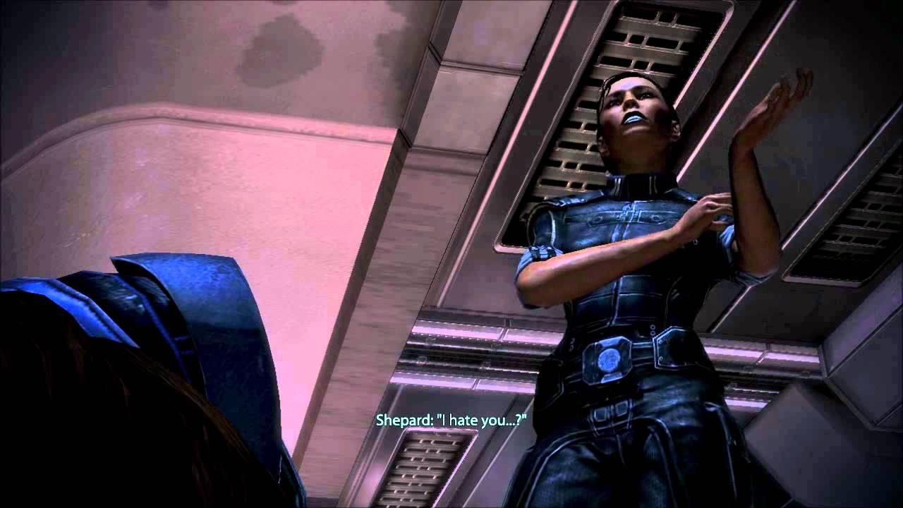 Mass Effect 3 Drunk Ashley Williams Female Shepard  Doovi-2196