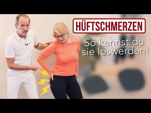 Hüftschmerzen Übungen (Hüftarthrose) zum Mitmachen // Hüfte, Arthrose, Hüftarthrose