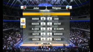 Jordan vs Philippines‬ (FIBA Asia 2013, Pre.Round / Game 2)