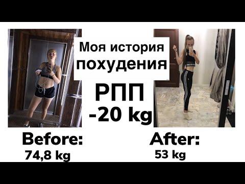 Моя история похудения|- 20 кг|РПП|Правильное питание