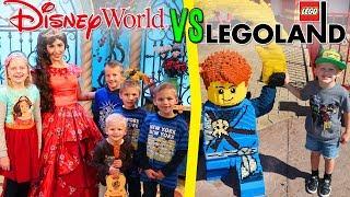 Disney World vs Legoland vs Universal -- Florida Family Fun!