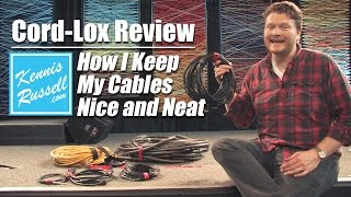 Cord-Lox Review (How I Keep My Cables Nice and Neat)