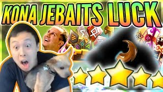 My Dog Is INSANELY Lucky?! - Jebaited NAT 5s / Lightnings / Blessings! - Summoners War