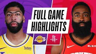 GAME RECAP: Lakers 120, Rockets 102