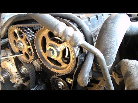 Как поменять РЕМЕНЬ ГРМ, замена РЕМНЯ ГРМ на шевроле лачетти 1.6( F16D3) Chevrolet Lacetti