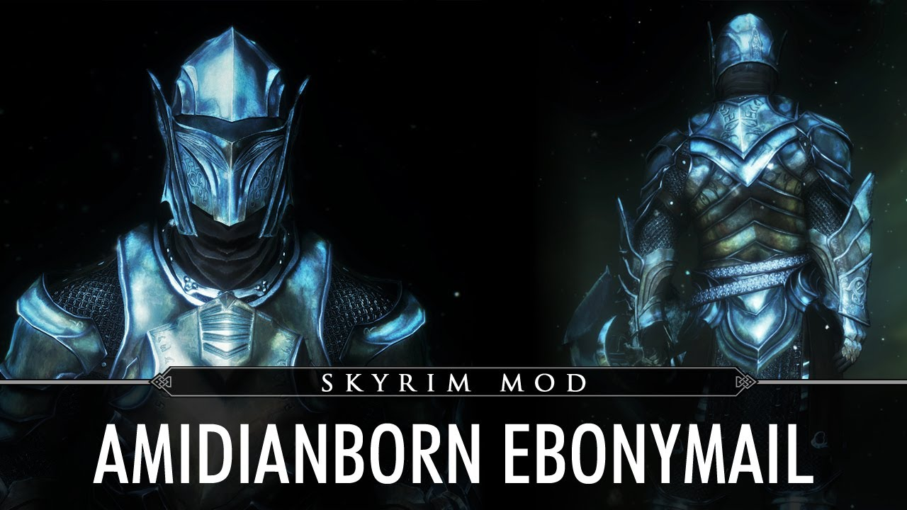 How to get the ebony mail in skyrim