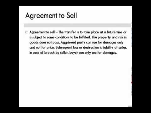 Quick Best Notes Mercantile Law Sale Of Goods Act 1 Youtube