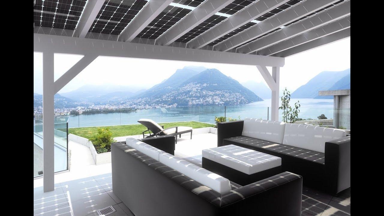 Solar Terrassendach Zur Stromerzeugung 2015 YouTube