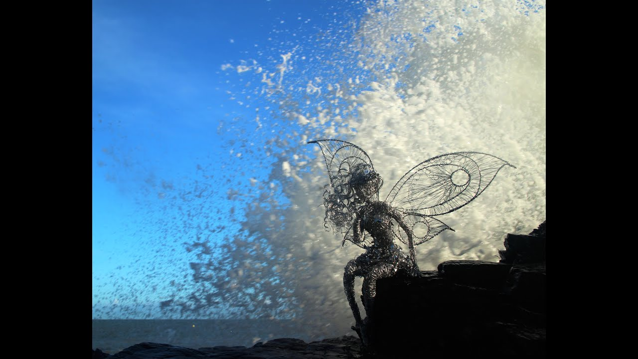 Garden Sculpture making a wire fairy by Emma Jane Rushworth - YouTube