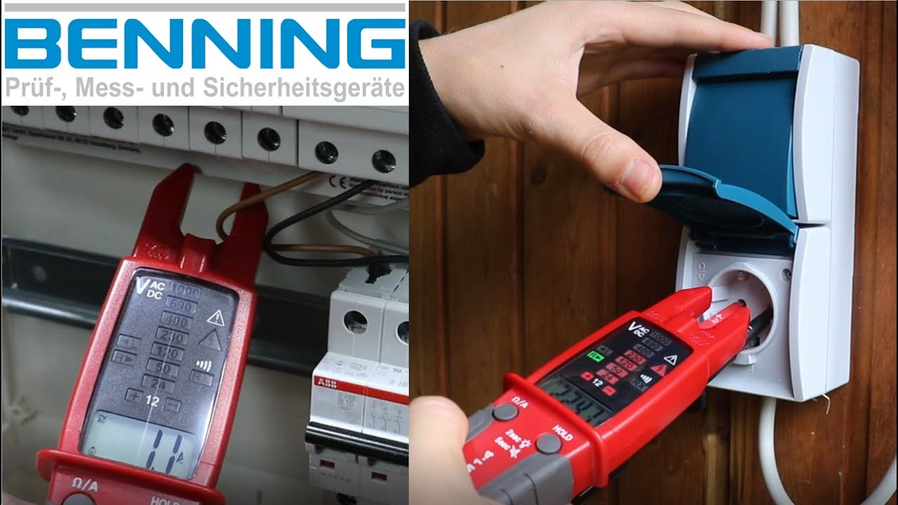 Stromzange (Benning CM 1-4)