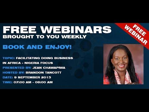 Facilitating Doing Business in Africa -  Nigeria Focus
