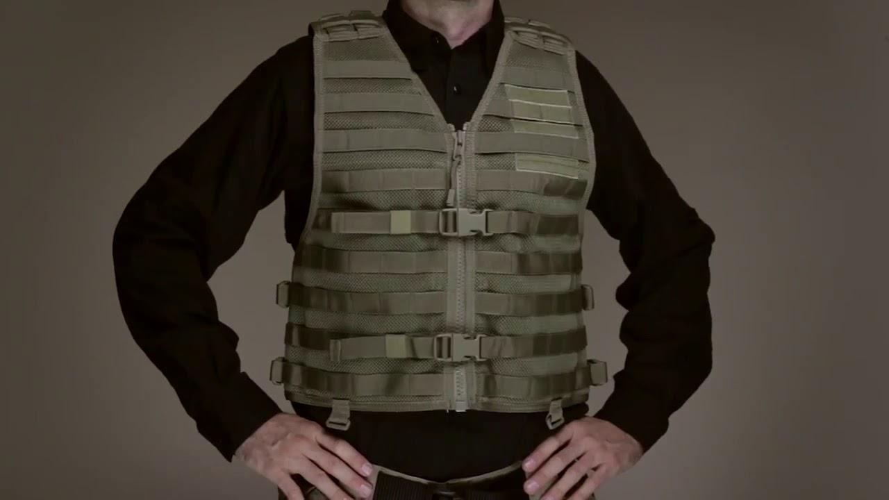 5.11 Tactical Vtac Lbe Molle Gilet-Nero Tutte le Taglie