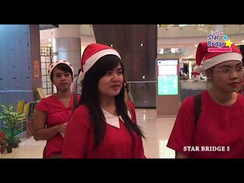 Natal 2017 Star Bridge di Grand City Surabaya