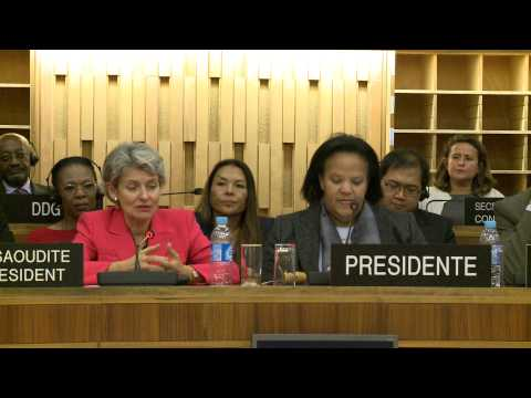 Irina Bokova nominated by UNESCO Executive Board for the post of Director-General