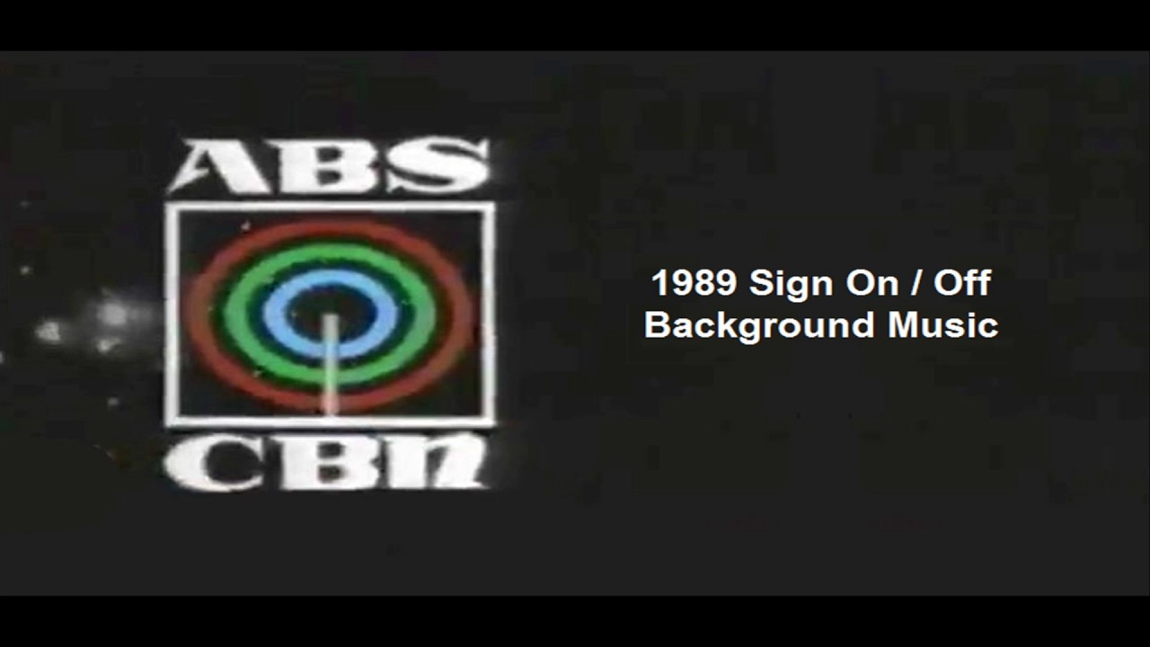 ABS-CBN Sign On / Sign Off Background Music (1986-1989) by PJ Santos:  Official YouTube Channel