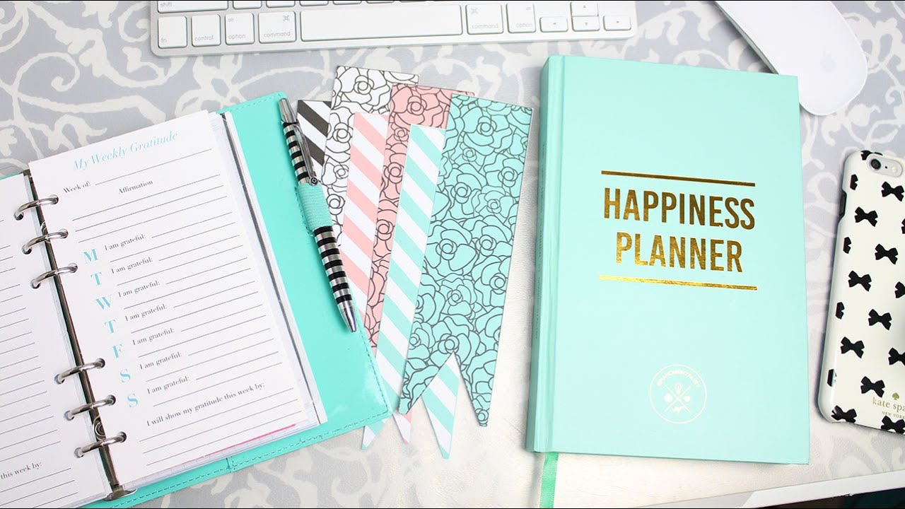 Getting started with intentional planning happiness for For planner