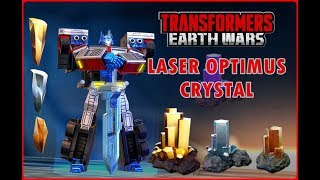 Transformers: Earth Wars - Opening 2 star, 3 star, 4 star Crystals, ft Laser Optimus