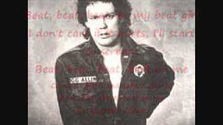 GG Allin & The Jabbers - Beat, Beat, Beat (with lyrics)