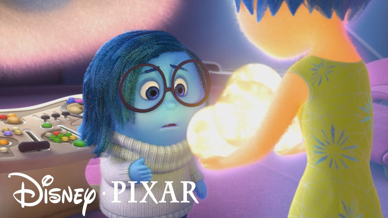 Pixar Inside Out Joy Realizes Why Sadness Is Important Emotion To Riley S Mental Health Hd Youtube