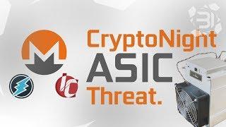 Monero/CryptoNight ASIC Miner Threatens GPU Mining.