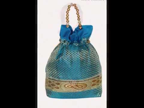 Batwa Purse Making : butwas potli gift bags brocade bags hand bags ranjanaarts 2014 ...