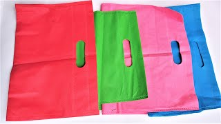 3 Easy and Awesome Ideas Of Carry Bags To Do At Home | Fabric Bag Reuse