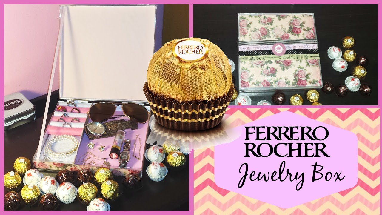 Ferrero Rocher Box Diy Part - 20: Ferrero Rocher box