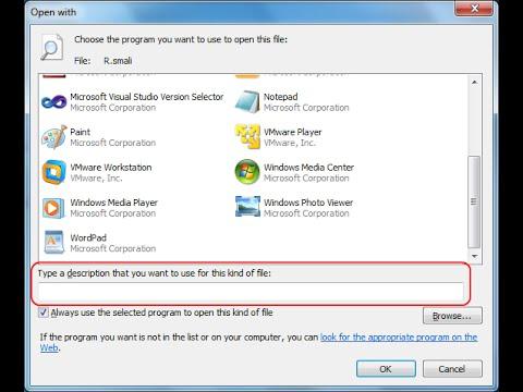 Cara Membuka File Yang Tidak Diketahui Ekstensinya Atau Program