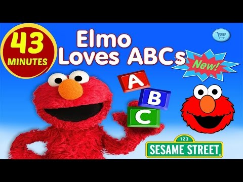 ELMO Loves ABCs ☀ APP Review ☀ FULL GAME PLAY ☀ Learning Simple English Words For Children