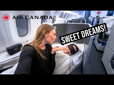 16 Hours in Air Canada Business Class! 787-9 Signature Cabin (Dubai to Toronto)