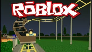 BEST ROLLER COASTER EVER! ROBLOX - THEME PARK TYCOON - GAMEPLAY