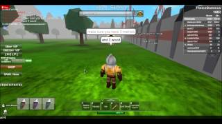 Roblox Medieval warfare how to make a sword.