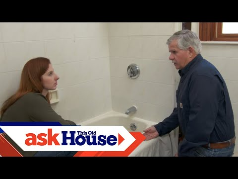 How To Caulk Around A Bathtub | Ask This Old House