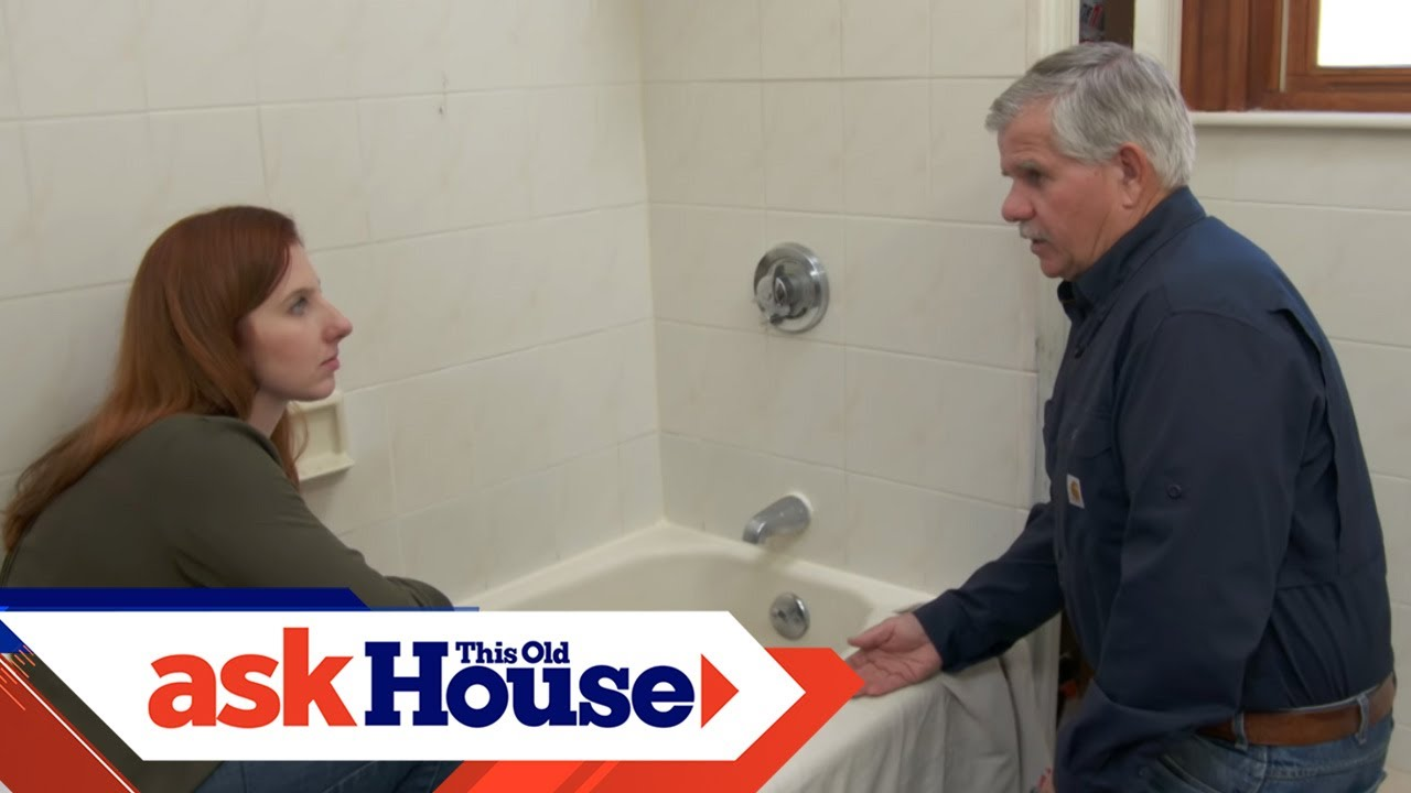 How To Caulk Around A Bathtub Ask This Old House You