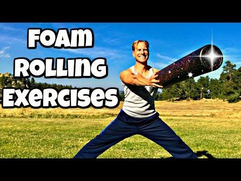 My Favorite Foam Roller Exercises for Legs, Back & Butt (part 1 of 2)