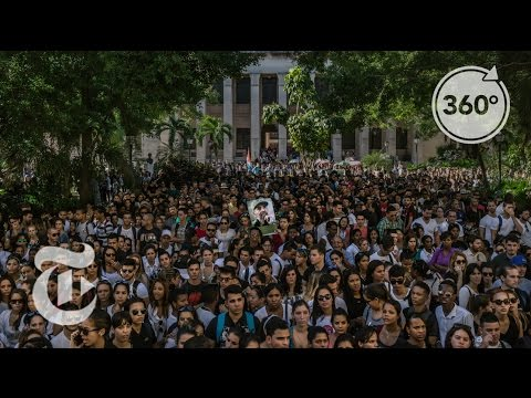 On Fidel Castro's Old Campus, Students Pay Tribute | The Daily 360 | The New York Times
