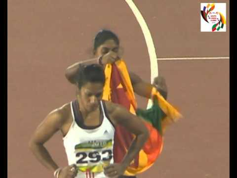 100 Womens-12th South Asian Games(Rumeshika)