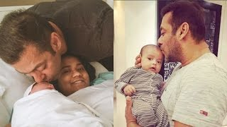 All Moments When Salman Khan Spotted with CUTE Baby Ahil