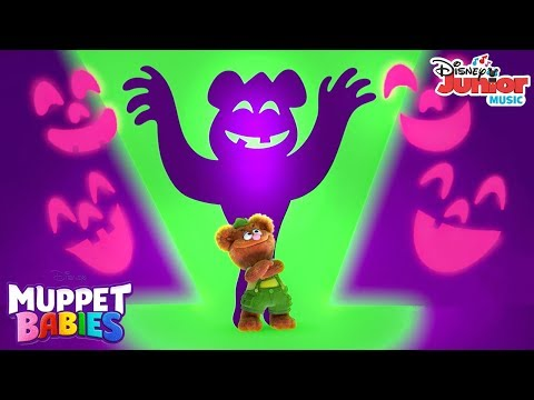 Super Spooky Halloween Music Video | Muppet Babies | Disney Junior